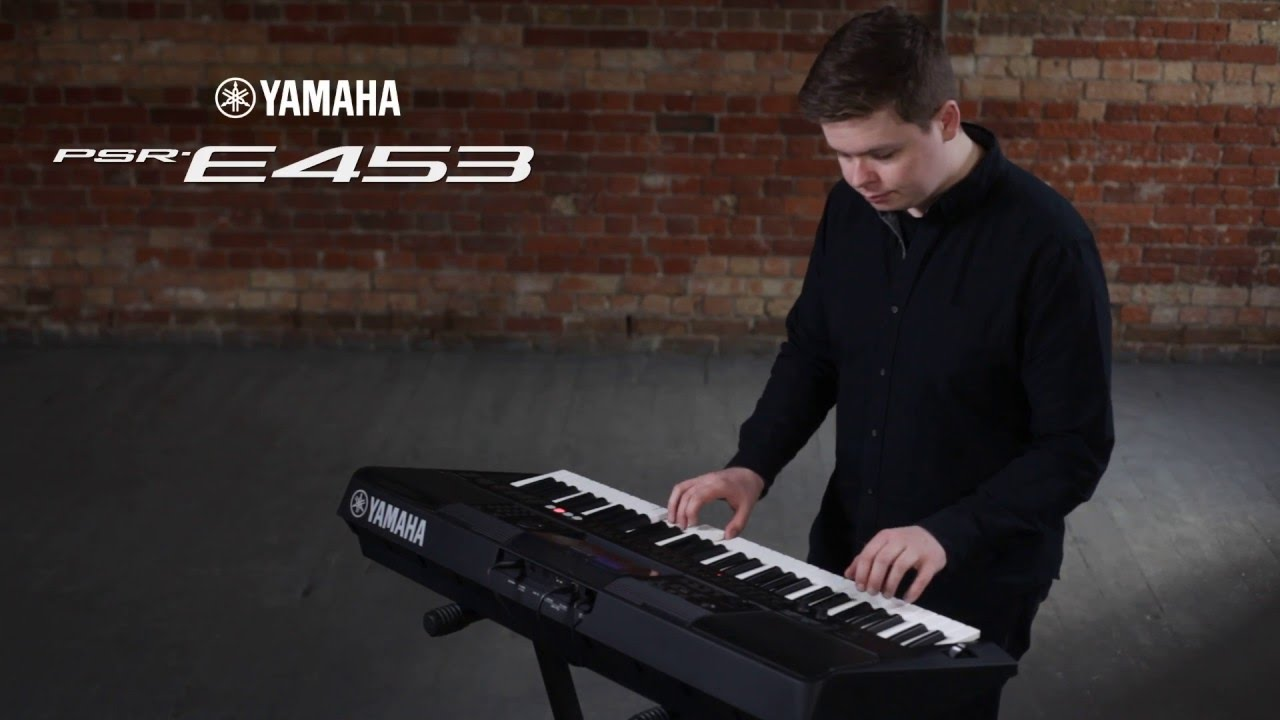 yamaha psr e453 overview youtube. Black Bedroom Furniture Sets. Home Design Ideas