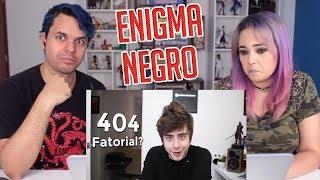 REACT O ENIGMA NEGRO 2 (Enigma Brasileiro)  (Cellbit)