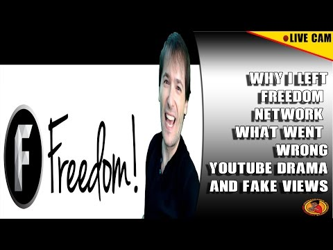 Why I Left Freedom Network What Went wrong  Channel Boting Youtube Drama Live Cam THE TRUTH
