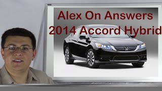 How the Accord Hybrid system works