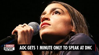 Download Lagu AOC Gets 1 MINUTE ONLY To Speak At DNC mp3