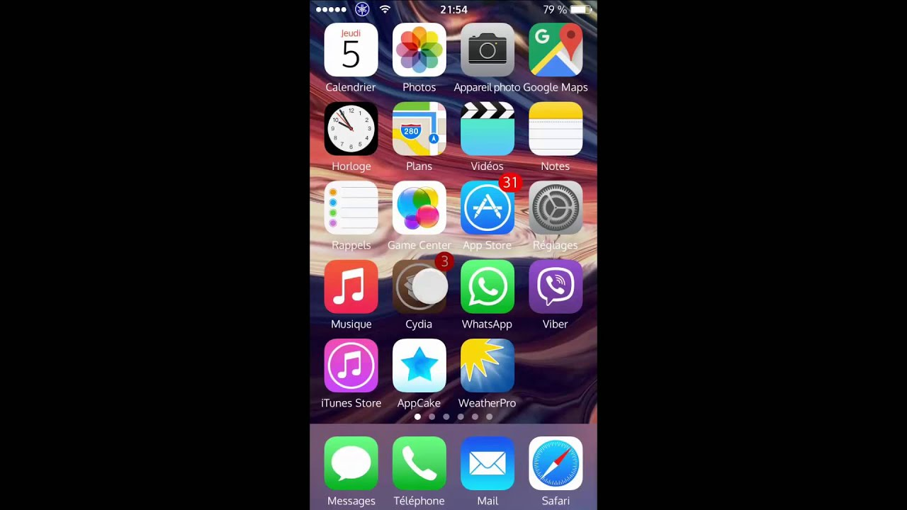 Tuto comment avoir livewallpaper ou fond d 39 cran anim for Fond ecran classe iphone