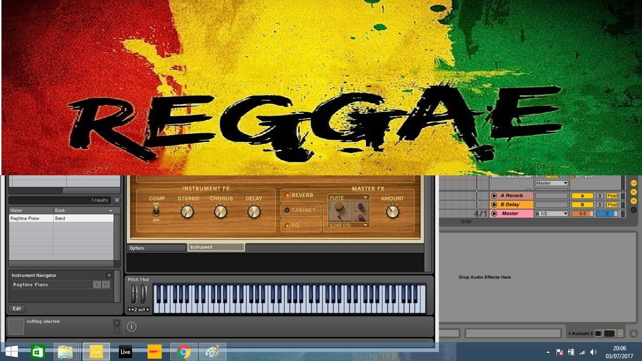 5 Sets Of Simple Reggae Chords To Jam With Piano Youtube
