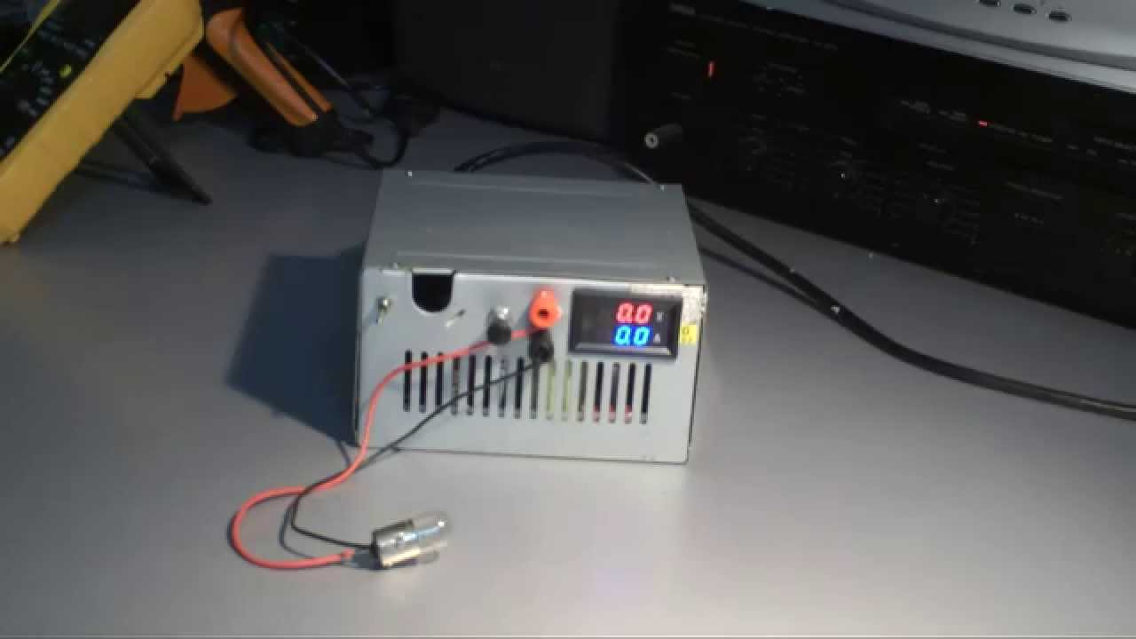 Atx Variable Bench Power Supply Youtube