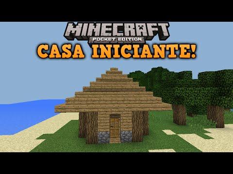Como Fazer Uma Casa Simples Minecraft Pe Youtube