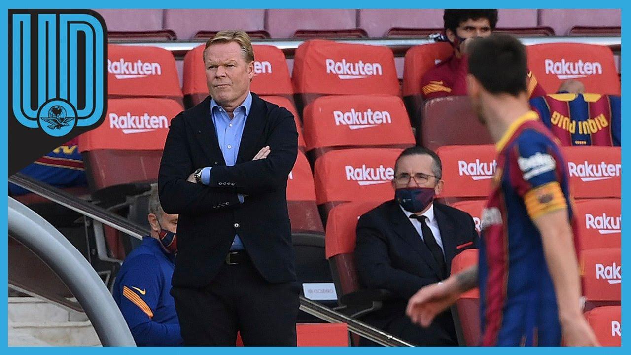 Koeman after El Clasico: VAR has only gone against Barcelona