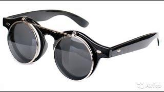 "Обзор на очки ""CRIUS"" с откидными стеклами в стиле ретро-стим панк. hi tall"