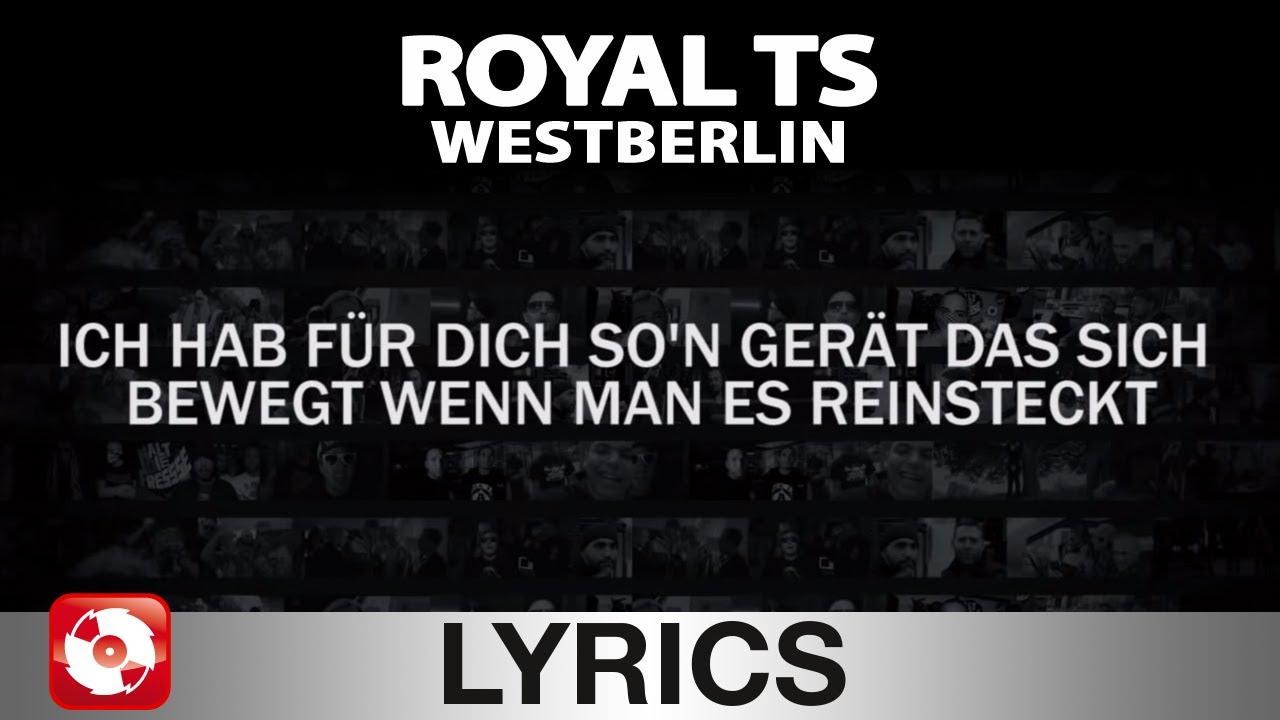 Ich bin so hässlich lyrics