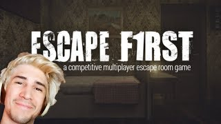 xQc Plays ESCAPE FIRST with Moxy (Co-op Escape Room Game) | with Chat