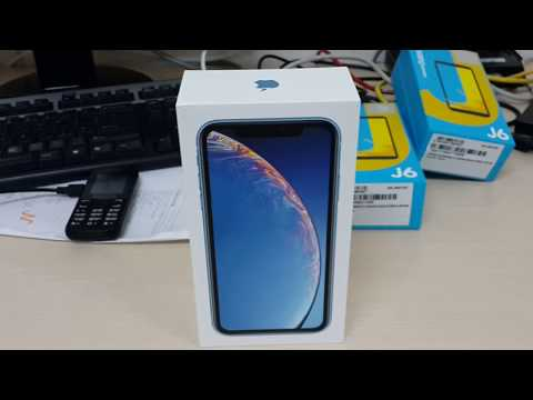 iphone-xr-blue-unlocked-64gb-a1984-quick-unboxing