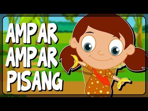 Ampar ampar pisang | Lagu Daerah Kalimantan Selatan | Budaya Indonesia | Dongeng Kita