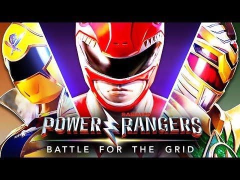 POWER RANGERS: BATTLE FOR THE GRID; CONFIRA A ANÁLISE DO TIO