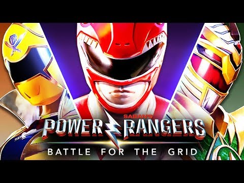 POWER RANGERS BATTLE FOR THE GRID : POWER RANGERS TEM A FORÇA!