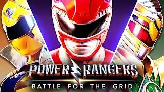 POWER RANGERS BATTLE FOR THE GRID : POWER RANGERS TEM A FORÇA!