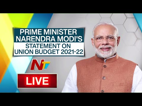 PM Modi Speech on Union Budget 2021 Live | Modi Statement on Budget | Ntv Live