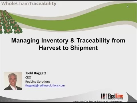 Highlights: Managing Inventory & Traceability from Harvest t