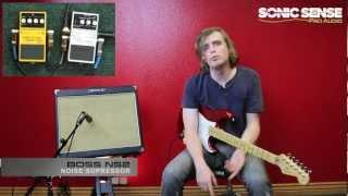 Boss NS-2: Noise Suppressor Guitar Pedal 1 of 3