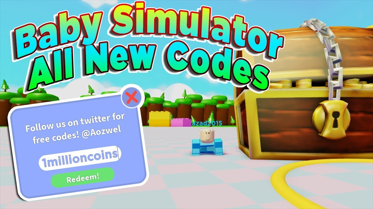 All New Codes Roblox Baby Simulator Youtube