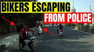 Bikers Escape from Cops | Best Budget Camera for Motovlogging thumbnail