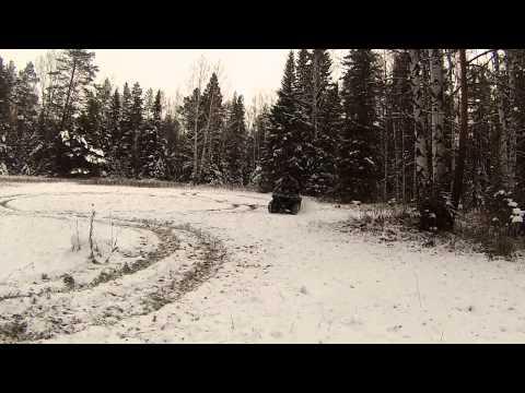 РМ-500 квадроцикл по первому снегу!