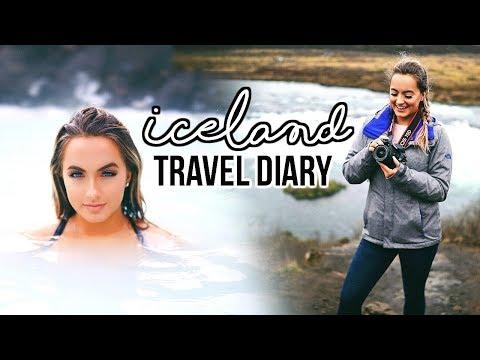 Iceland Travel Diary   Blue Lagoon, Black Sand Beach, Golden Circle