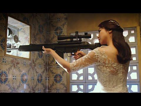 這才是頂級女殺手,結婚當天還在接任務,殺完人不耽誤入洞房