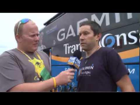 2010 Tour de France final day - Julian Dean