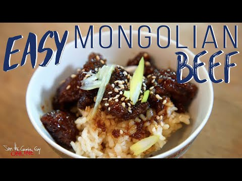 Best Mongolian Beef episode | SAM THE COOKING GUY recipe
