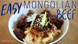 Best Mongolian Beef Recipe | SAM THE COOKING GUY