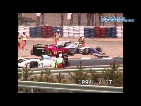 F1 PACIFIC GRAND PRIX 15-17 APRIL 1994 AYRTON SENNA