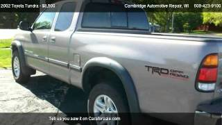 2002 Toyota Tundra SR5 - for sale in Cambridge, WI 53523