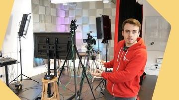Professional Multi Camera Video Studio for Facebook Live Streaming