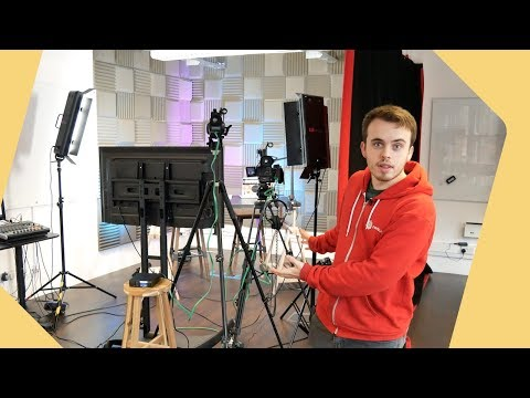 Professional Multi Camera Video Studio For Facebook Live Streaming