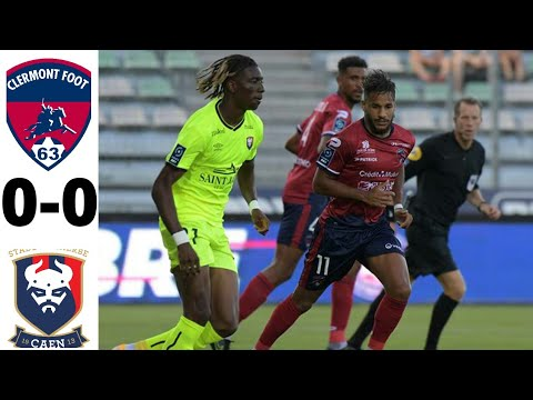 Clermont Caen Goals And Highlights