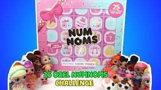 Num Noms 25 Sürpriz Dev Özel Seri Kutu LOL Bebekler ile Challenge. Kim Hile Yaptı? Bidünya Oyuncak