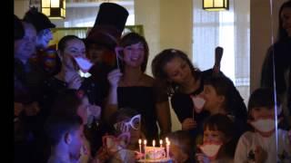 видео Аниматоры на день рождения ребенка 9 лет в Москве — Веселый километр