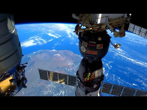 ISS Space Station Earth View LIVE NASA/ESA Cameras And Map - 12