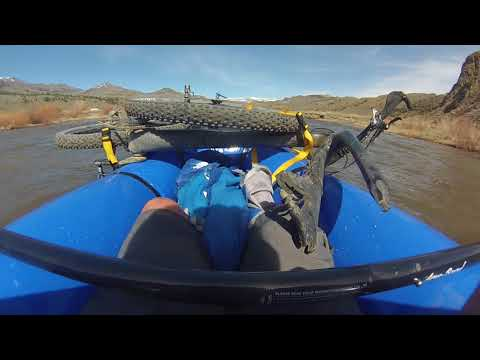 West Walker River Packraft and Bike Sonora Pass