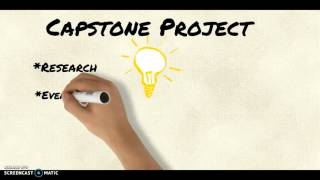 What is a Capstone Project?