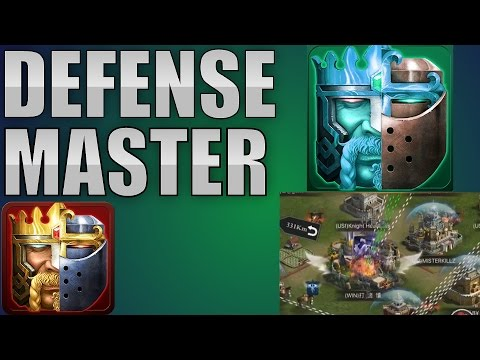 DEFENSE MASTER (CLASH OF KINGS TIPS AND TRICKS)
