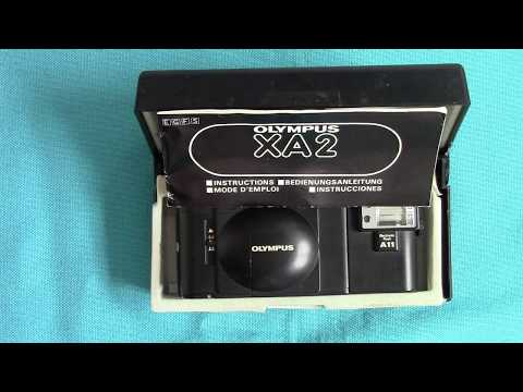 Two OLYMPUS XA Series film  cameras