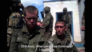 Interrogation of 20-y.o. Russian conscripts captured in Ukraine. (English)