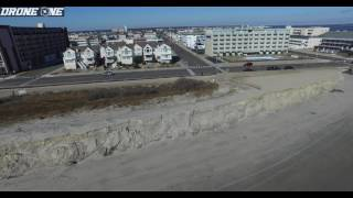 NORTH WILDWOOD STORM DAMAGE (JAN 26 2017) DRONEONE