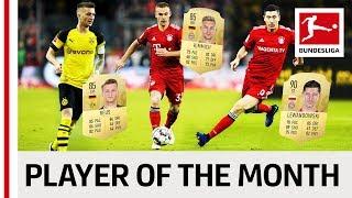 Reus, Lewandowski, Kimmich & Co. - Vote Your Player Of The Month December