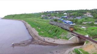 Сахалин и железные дороги острова колеи 1067 мм
