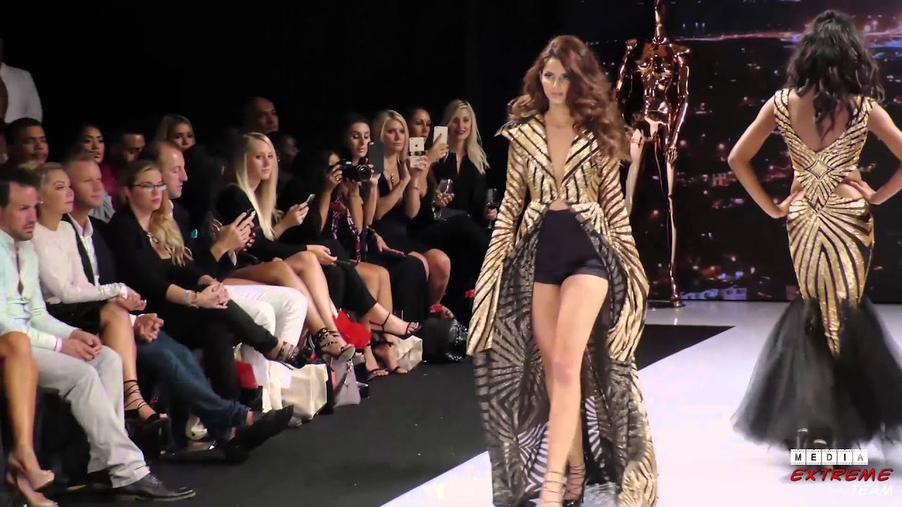Stello On The Runway At Art Heart During LA Fashion Week 2015