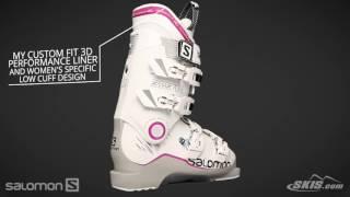 2017 Salomon X Max 70W Womens Boot Overview by SkisDotCom