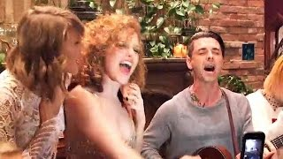 Taylor Swift INSANE Surprise Dashboard Confessional Party For Her BFF