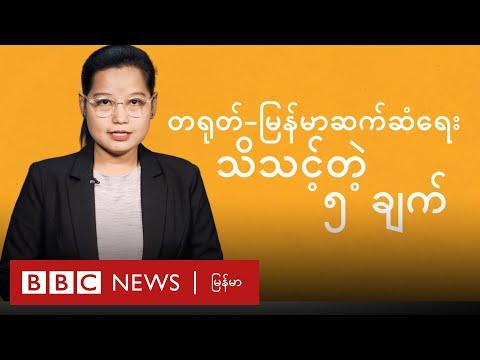တရုတ် - မြန်မာ