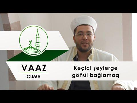 Муфтият Крыма: Vaaz - Keçici şeylerge göñül bağlamaq (ЦРО ДУМК)